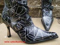 Leia Spinnennetz schwarz
