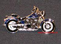 HD Pin Fat Boy 1340 blau
