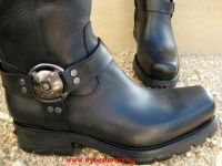 New Rock Boot General schwarz