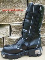 New Rock Boot Cyberdance schwarz