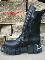 New Rock Boot Vanuatu schwarz