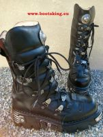 New Rock Boot Tonga schwarz