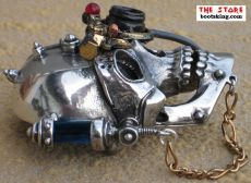 Alchemy Steampunk Buckle Necronaut
