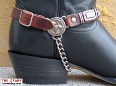 New Rock Boot Norland schwarz / rot