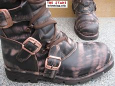 New Rock Boots Traenker antik braun