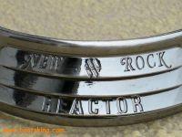 New Rock Boots Reactorsohle Metal Beschlag hinten