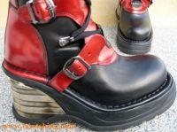 Owanja schwarz / rot