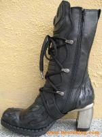 Antilles schwarz / schwarz-silbern
