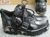 New Rock Boot Owen schwarz / silbern