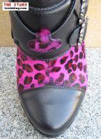 Marzia schwarz Leopard pink