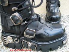 New Rock Boot Skywalker schwarz / schwarz