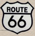 Route 66 Aufnäher