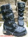 New Rock Boot Cyberdance schwarz