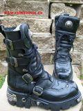 New Rock Boot Morpheus schwarz / schwarz