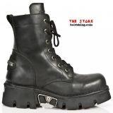 New Rock Boots Rabtor schwarz