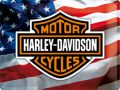 Harley Davidson Blechschild USA Logo mit Bar & Shield