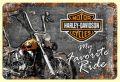 Harley Davidson Blechschild Favourite Ride