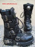 New Rock Boot Skywalker black / black